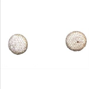 Jewelry - SALE-925 silver CZ diamond earrings